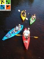 Evento de canoas nos States