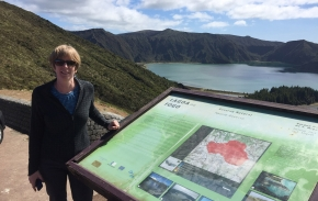 Uma Lackey nos Açores…