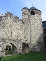 Brussels' city wall