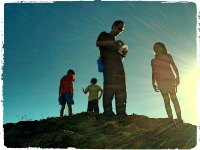 Geocaching em Familia